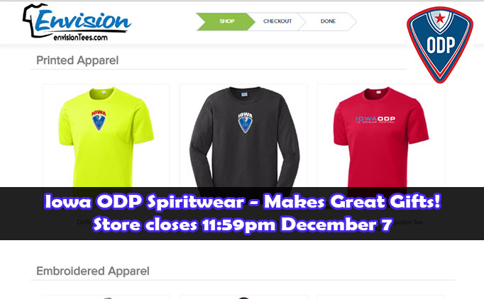 Online spiritwear store open for the holidays