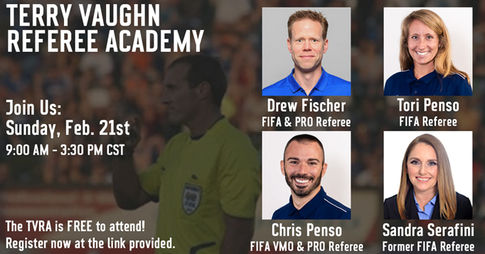2021 Terry Vaughn Referee Academy