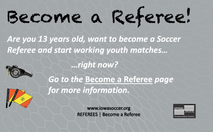 Become a Referee!