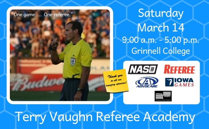 2020 Terry Vaughn Referee Academy
