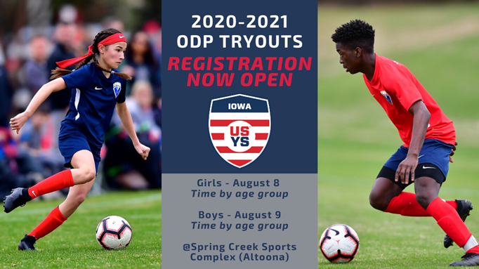 2020 Olympic Development Program Tryouts