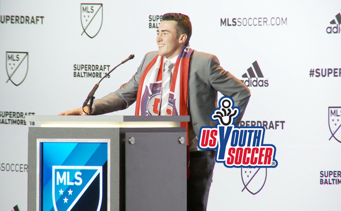 Harrison leads a long list of US Youth Soccer Alumni selected in 2016 MLS SuperDraft
