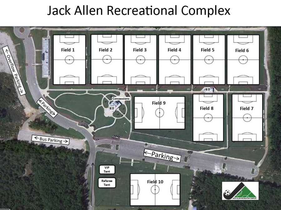 Jack Allen Field Layout