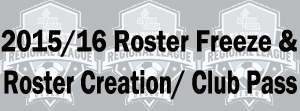 2015-16 Roster Freeze