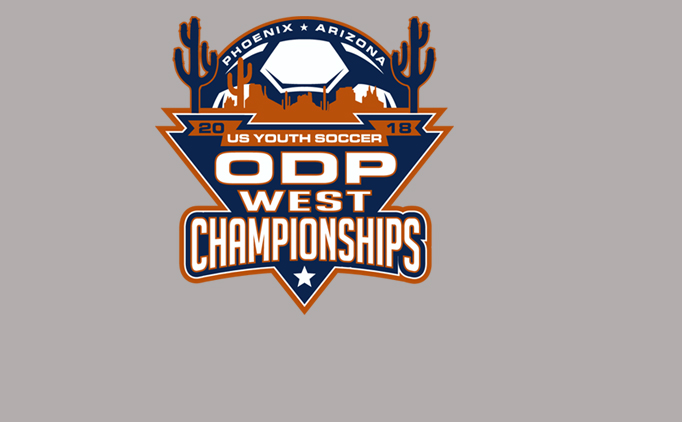 Follow the 2018 West ODP Championships