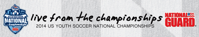 2014 US Youth Soccer National Championships Live from Maryland