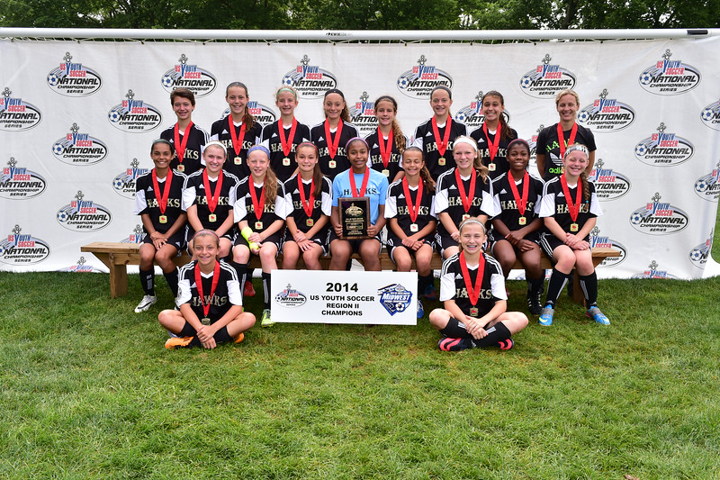 Girls U13 CHAMPS (0017)-------Michigan Hawks 01 (MI) (SC)-L