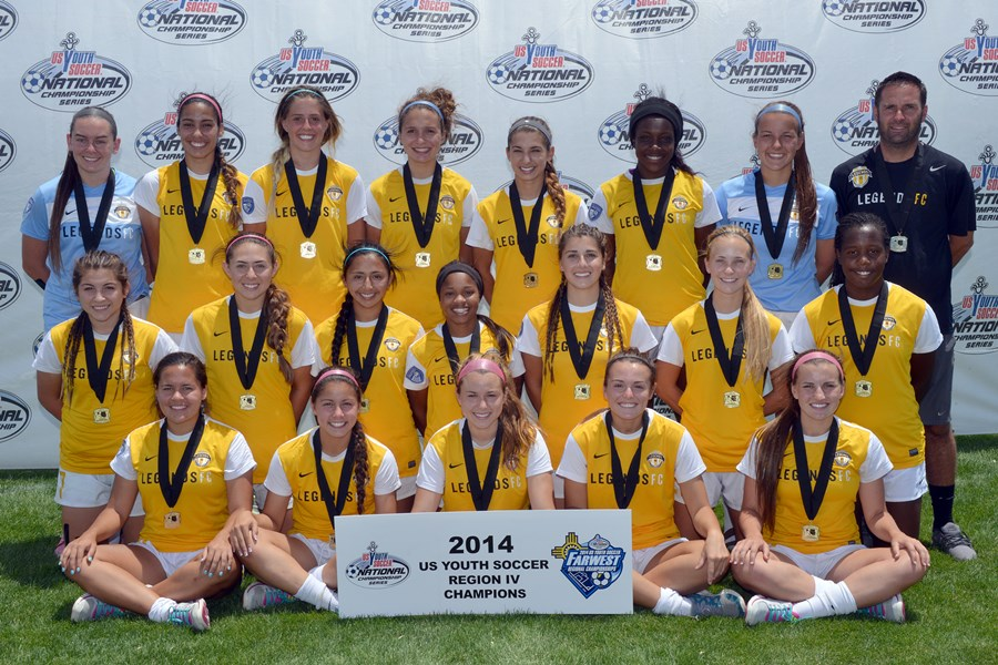 FWR14-U17G (CA-S) Legends FC 96