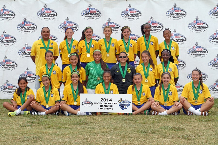 U13 Girls - Champions - Dallas Kicks SC (N-TX)