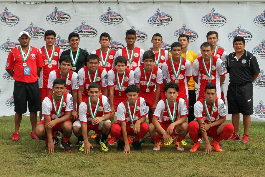 U16 Boys - 2nd - Houstonians FC 98 Red (S-TX)
