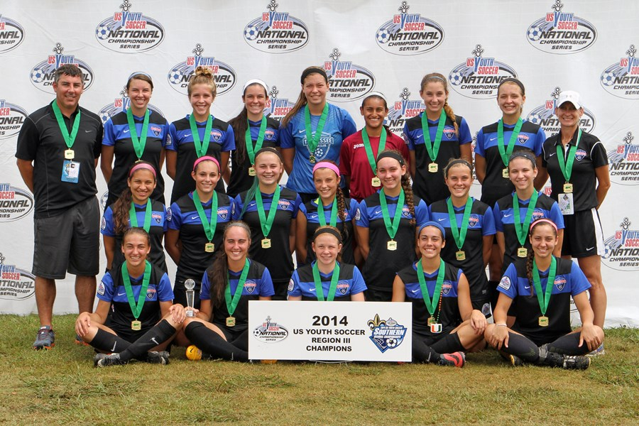 U16 Girls - Champions - Tennessee SC 16 (TN)