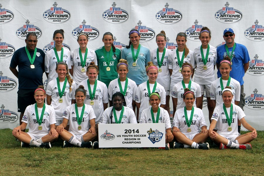 U17 Girls - Champions - Maitland 96-97 Florida Krush Black (FL)