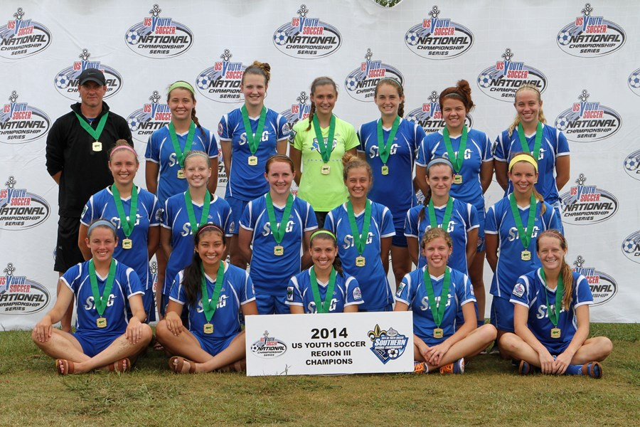 U18 Girls - Champions - Sting (N-TX)