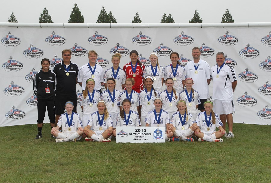 Under-14 Girls, YMS Xplosion 98 (PA-E)
