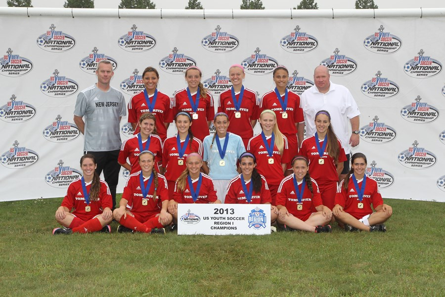 Under-16 Girls, Toms River United 96-97 (NJ)