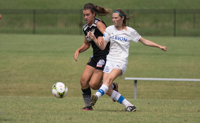 Albion SC White advances with tie