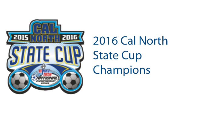2016 California North State Cup Champions