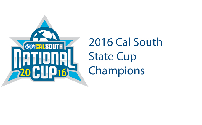 2016 Cal South State Cup Champions