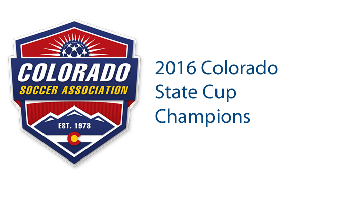 2016 Colorado State Cup Champions