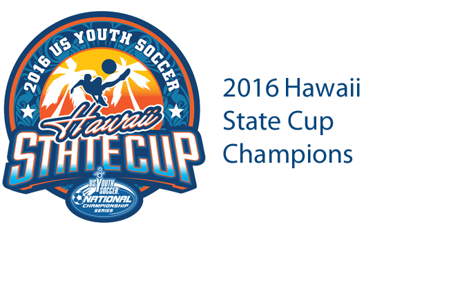 2016 Hawaii State Cup Champions