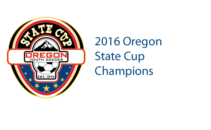 2016 Oregon State Cup Champions