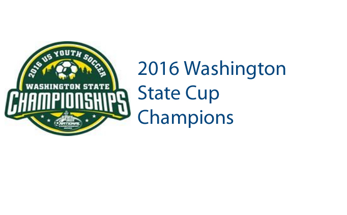 2016 Washington State Cup Champions