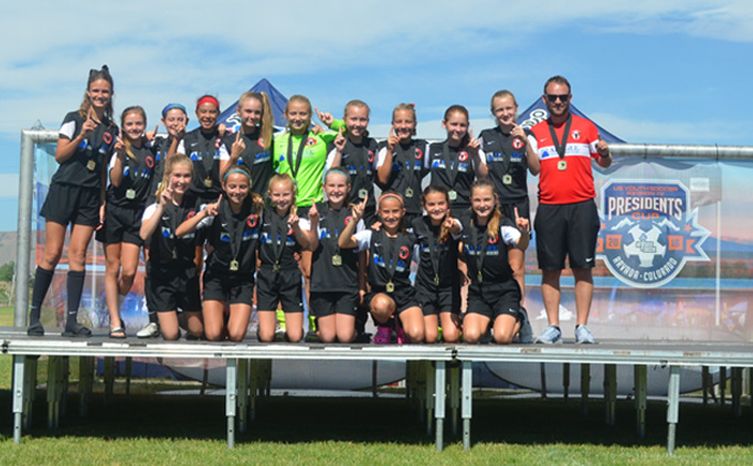 U12 Boys and Girls Region IV Champions Crowned