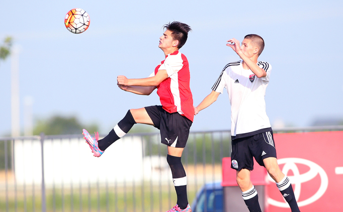 U16B La Roca defeats Loudoun in opening match