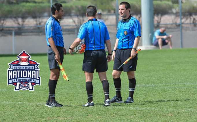 97 Referees Chosen for the National Championships