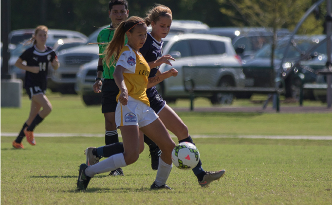 Corner kick goal propels Legends FC to U14G Final