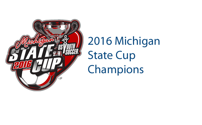 2016 Michigan State Cup Champions