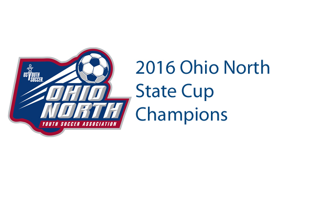 2016 Ohio North State Cup Champions