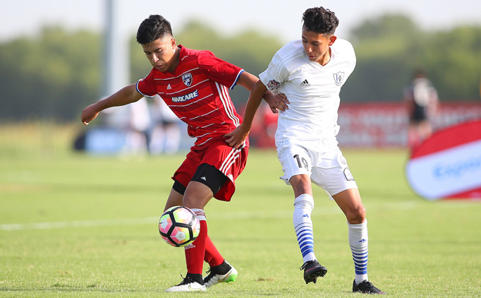 17U: Sparta and FC Dallas start off with 2-2 draw