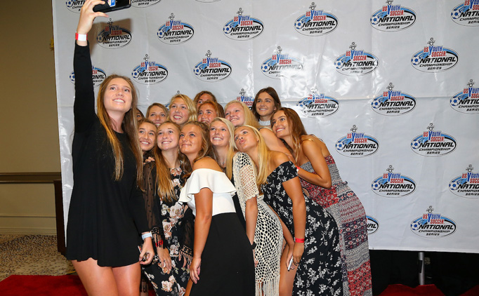 Player luncheon kicks off National Championships