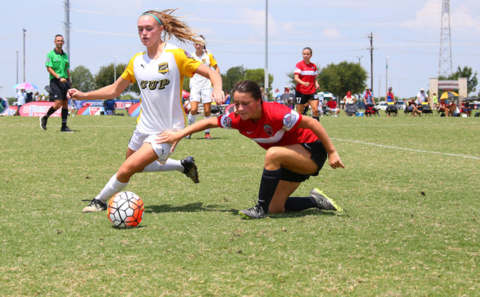 U15G CUP Gold defeats rival to move on to semis