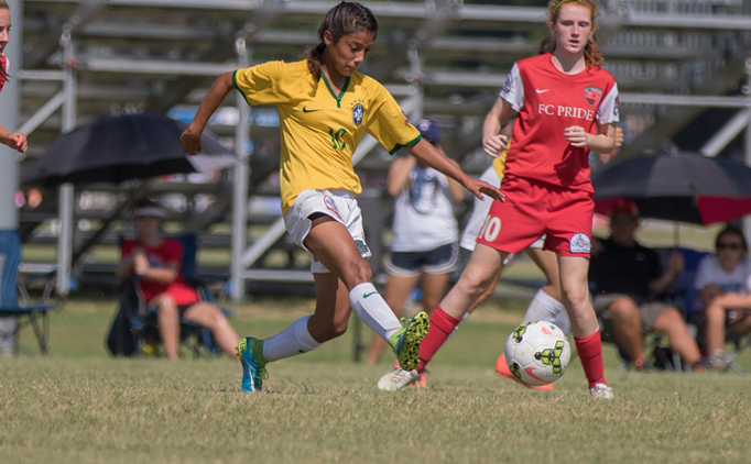 Dallas Kicks its way into the U14G final