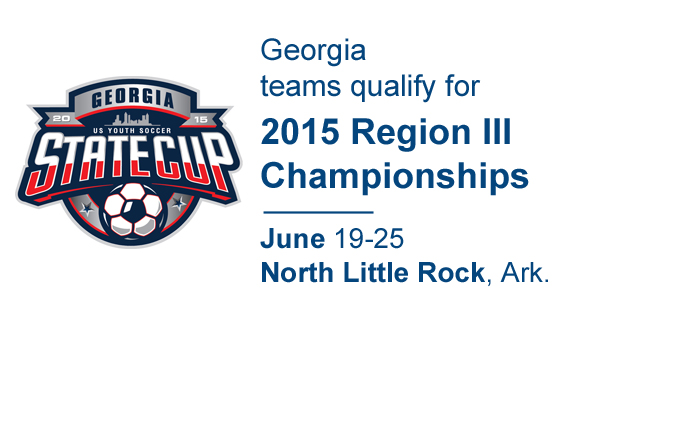 2015 US Youth Soccer Georgia State Cup Champions