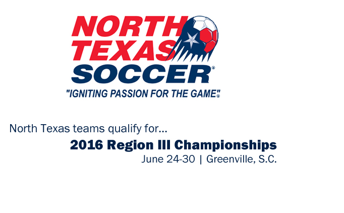 2016 North Texas State Cup Champions