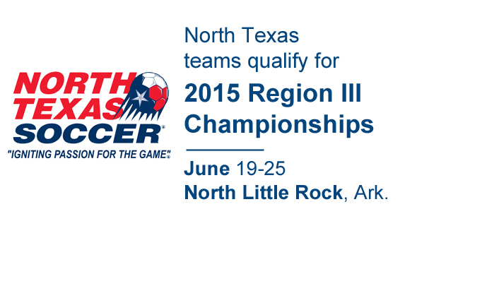 2015 US Youth Soccer North Texas State Champions
