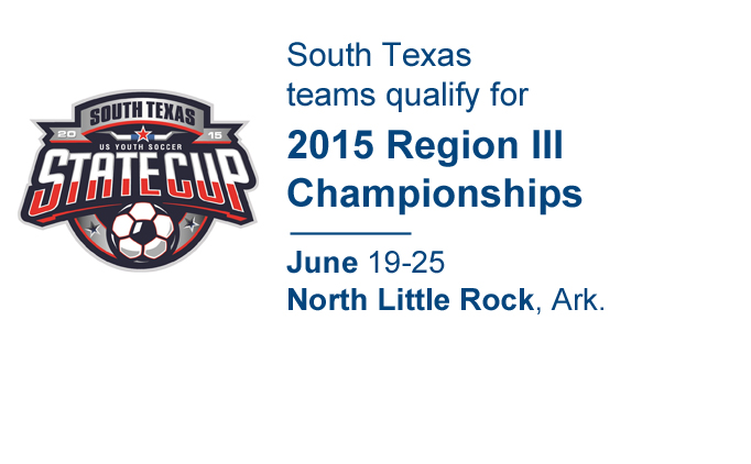2015 US Youth Soccer South Texas State Champions