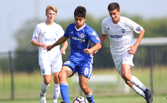 Solar Chelsea earn 5-0 victory over Midwest United