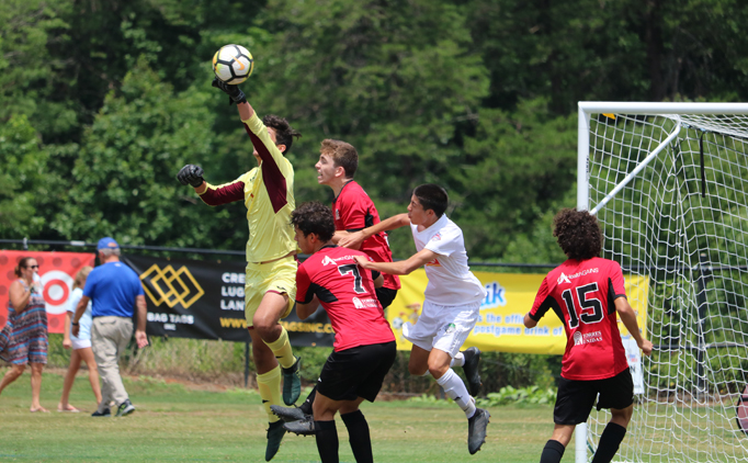 Final matchups set at Southern Regionals
