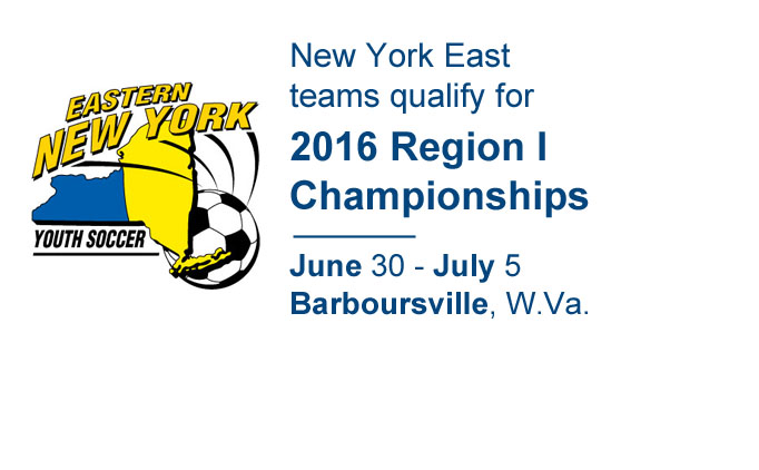 2016 Eastern New York State Cup Champions