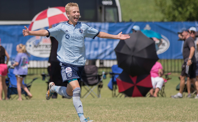 Sporting KC grab semi win to advance to U15B final
