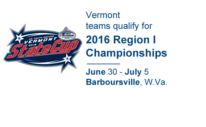 2016 Vermont State Cup Champions