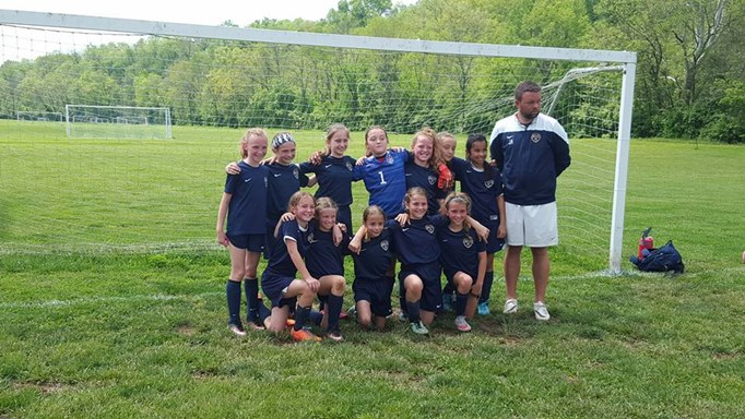 U10 Girls Clinch U11 Title!
