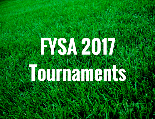 FYSA 2017 Tournaments