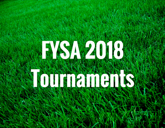 FYSA 2018 Tournaments