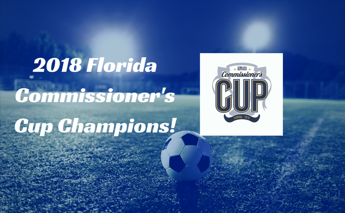 2018 Commissioners Cup Champions!