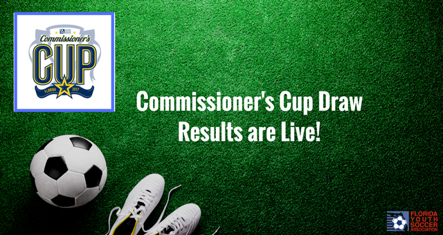 Commissioners Cup Draw Results